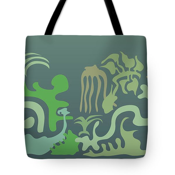 Botaniscribble Tote Bag