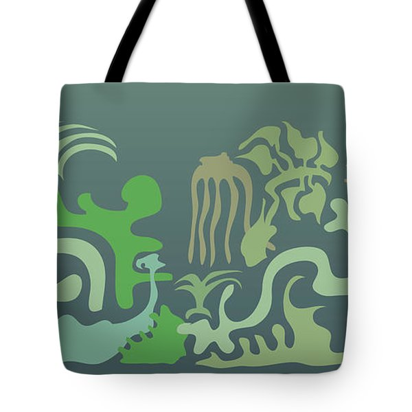 Botaniscribble Tote Bag by Kevin McLaughlin