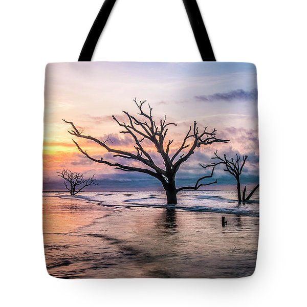 Tote Bag featuring the photograph Botany Bay Dawn by Phyllis Peterson
