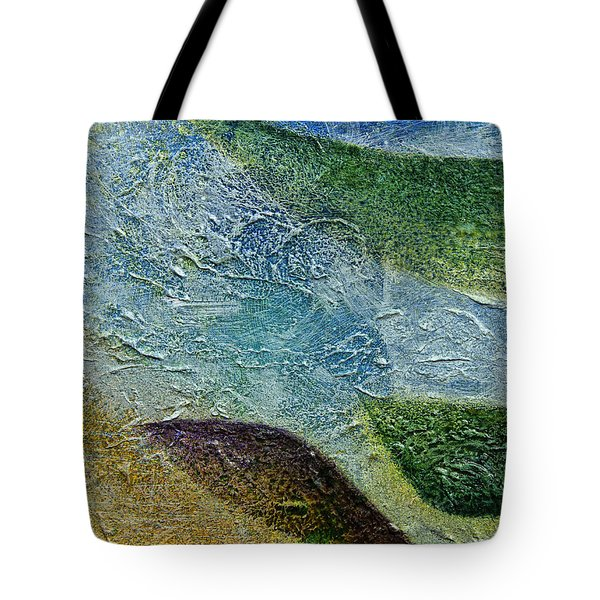 Tote Bag featuring the painting Botany I by John Hansen