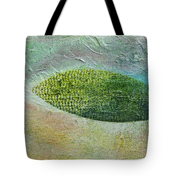 Tote Bag featuring the painting Botany II by John Hansen