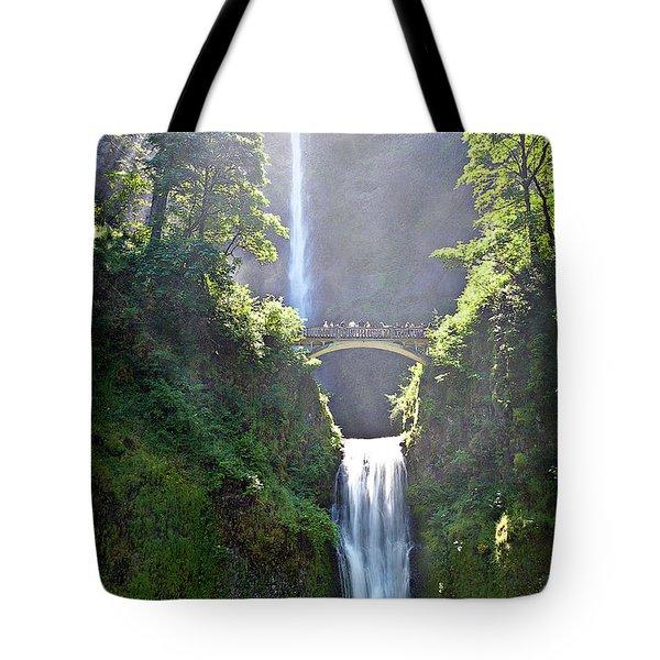 Both Falls Tote Bag