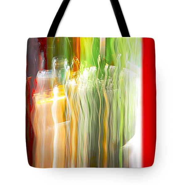 Bottle By The Window Tote Bag