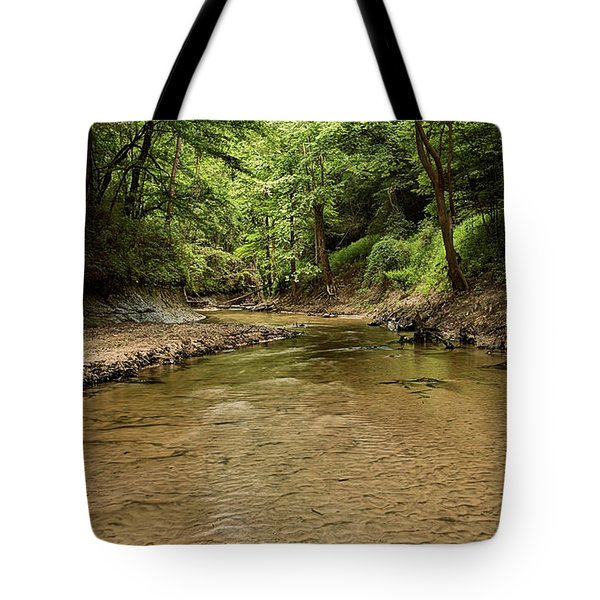 Tote Bag featuring the photograph Bottle Creek by JC Findley