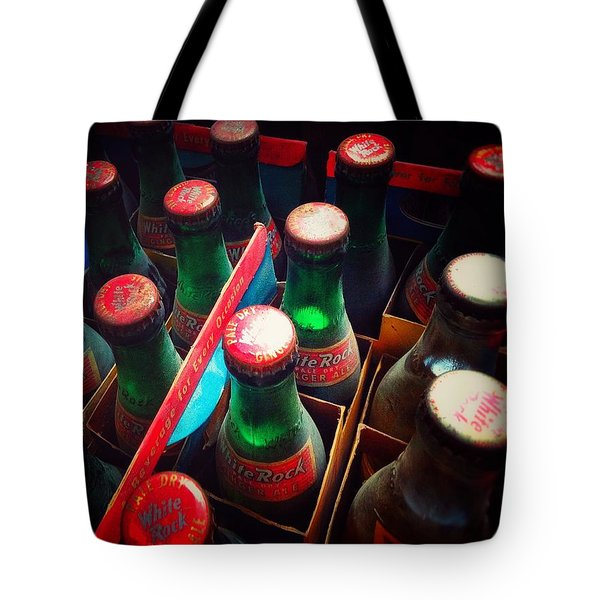 Tote Bag featuring the photograph Bottle Necks by Olivier Calas