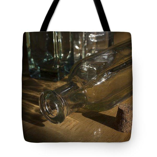 Bottles And Cork 1002 Tote Bag