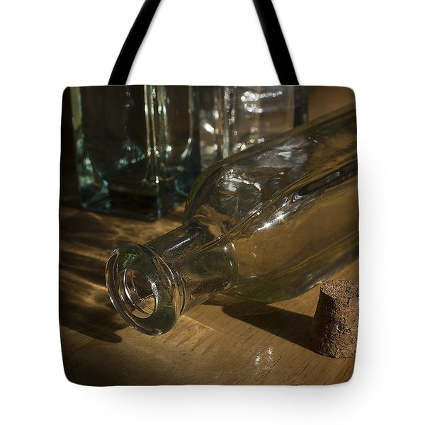 Bottles And Cork 1002 Tote Bag