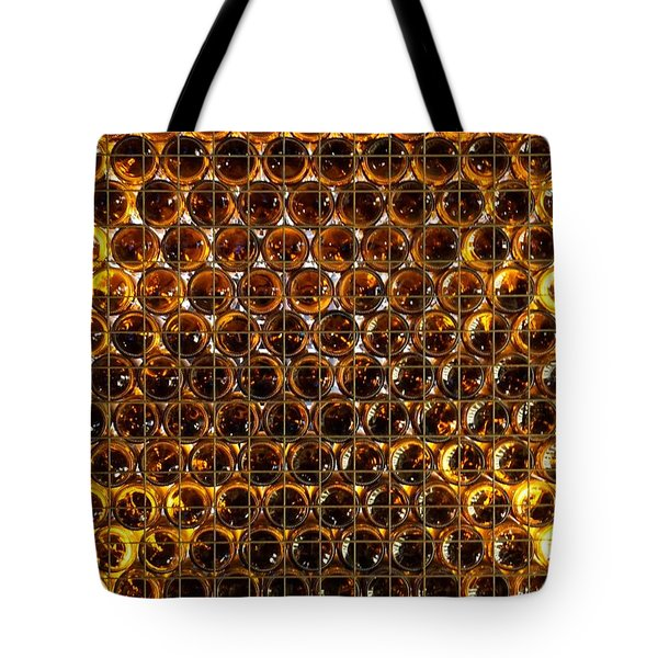 Bottles Of Beer On The Wall Tote Bag