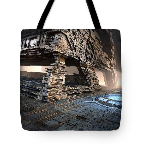 Bottom Level Tote Bag
