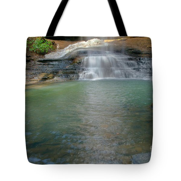 Bottom Of Falls Tote Bag