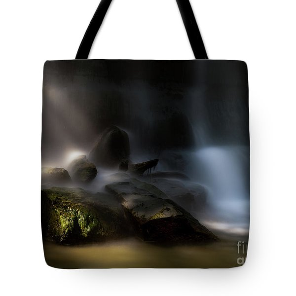 Bottom Of The Falls Tote Bag