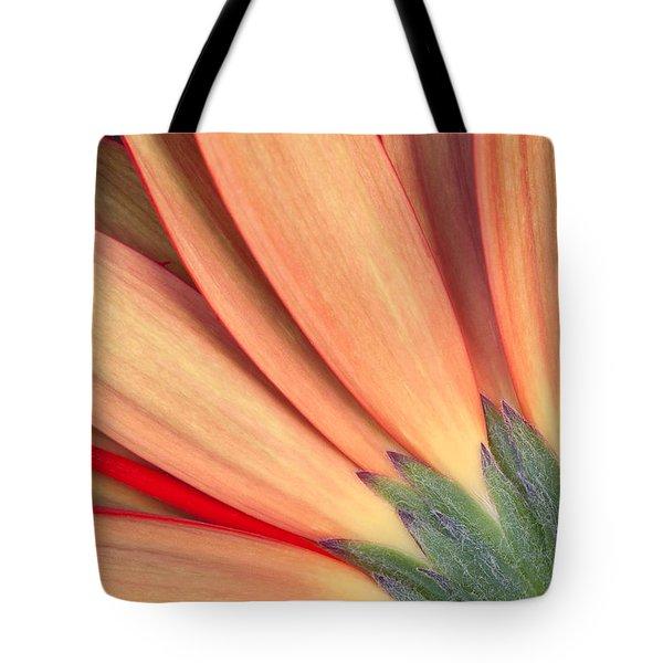 Flower Bottom View Tote Bag