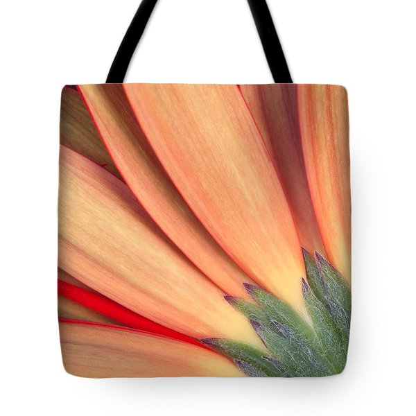 Flower Bottom View Tote Bag