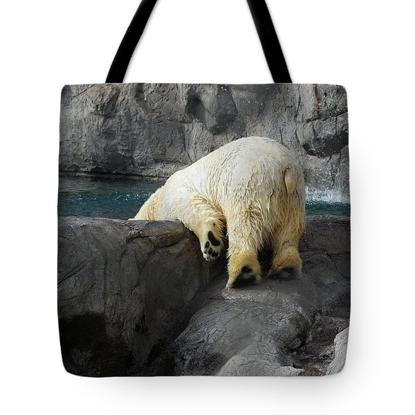 Bottoms Up Tote Bag by Carolyn Dalessandro