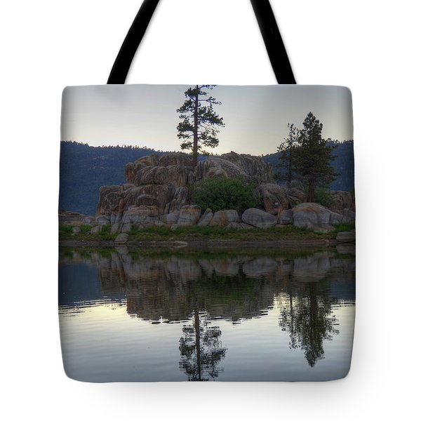 Tote Bag featuring the photograph Boulder Bay Reflections  by Kelly Wade