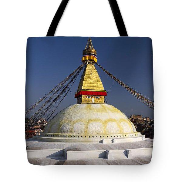 Boudhanath Stupa Tote Bag