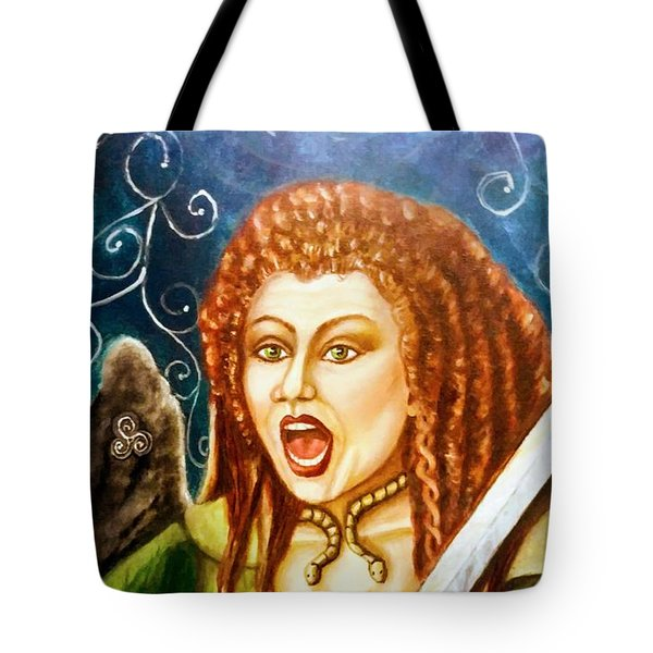Boudicca  Let Not Our Daughters Be Forgotten Tote Bag