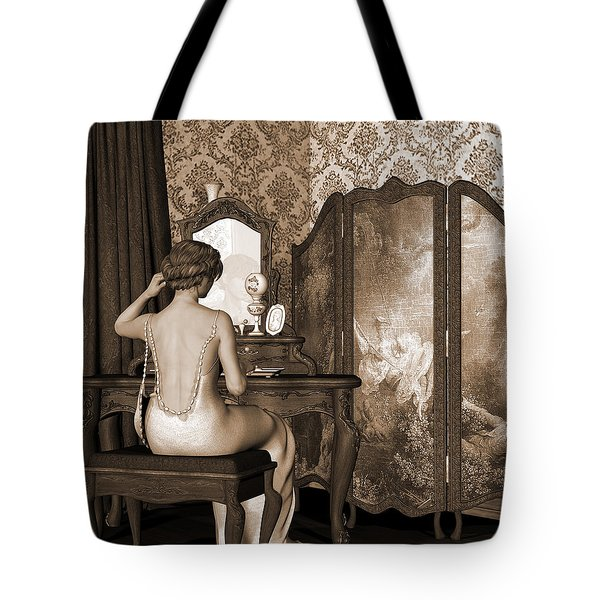 Boudoir Reflection Tote Bag