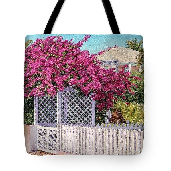 Bougainvillea Crown Tote Bag