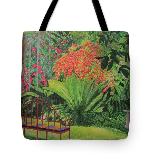 Bougainvillea Garden Tote Bag