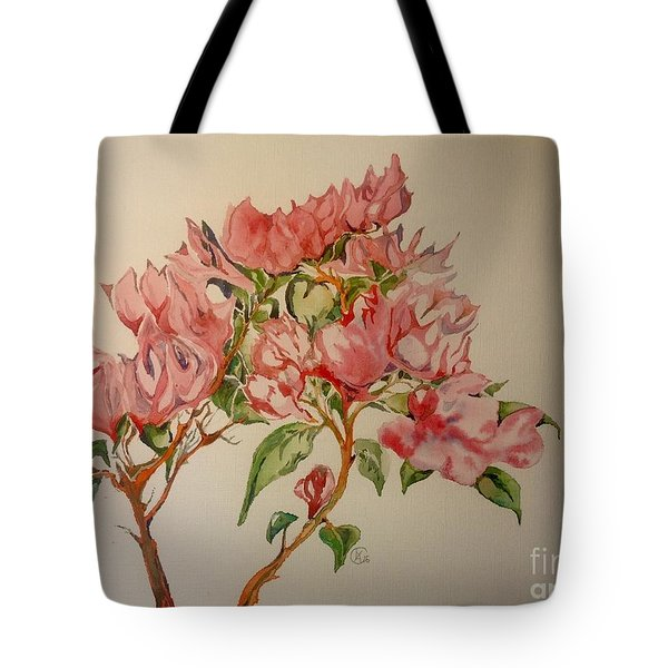 Bougainvillea Tote Bag by Iya Carson