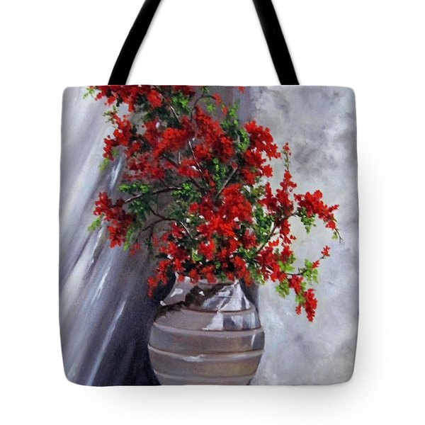 Bougainvillia Tote Bag