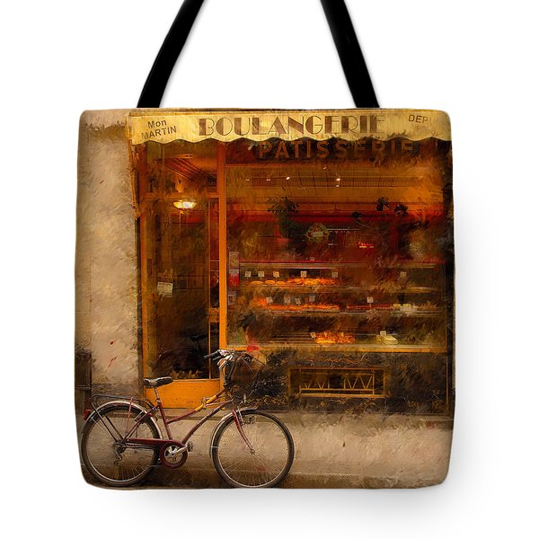 Boulangerie And Bike 2 Tote Bag