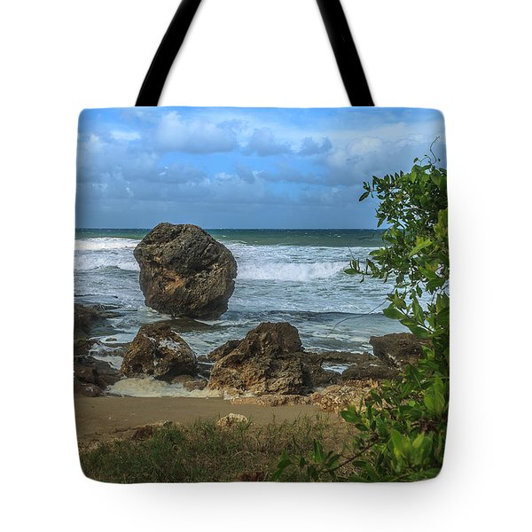 Tote Bag featuring the photograph Boulder Beach by Jose Oquendo