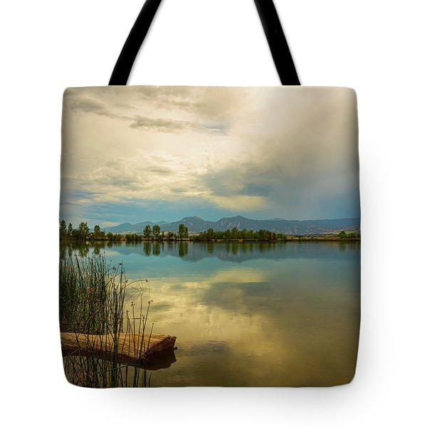 Tote Bag featuring the photograph Boulder County Colorado Calm Before The Storm by James BO Insogna