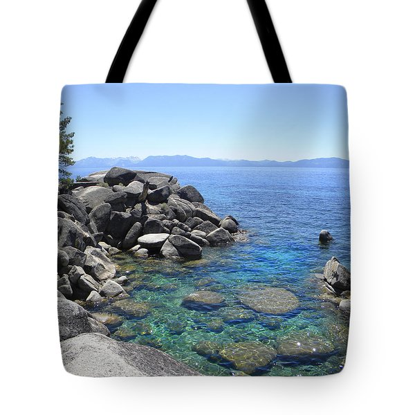Boulder Cove On Lake Tahoe Tote Bag