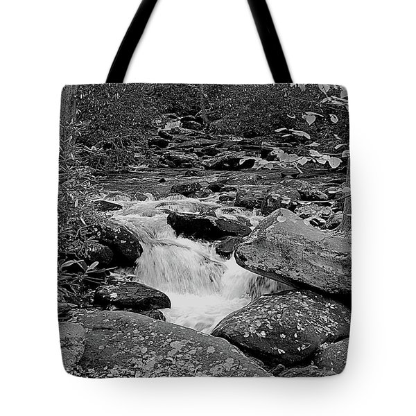 Boulder Creek Tote Bag by DigiArt Diaries by Vicky B Fuller