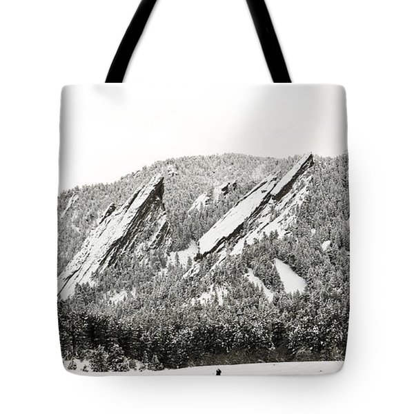 Boulder Flatirons Colorado 1 Tote Bag