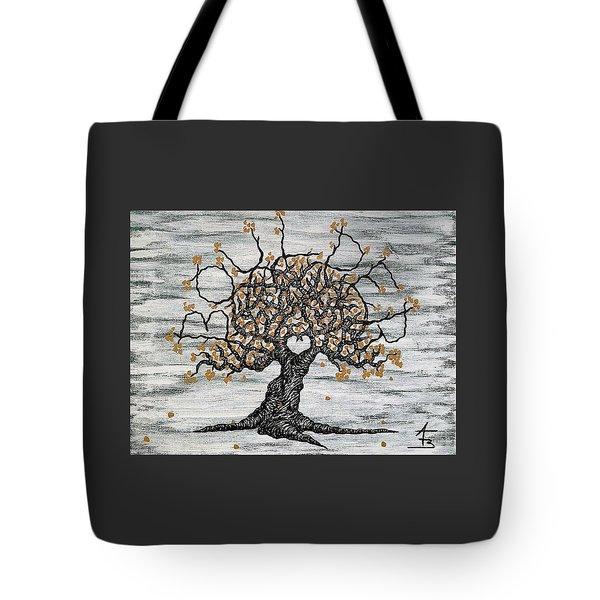 Boulder Love Tree Tote Bag