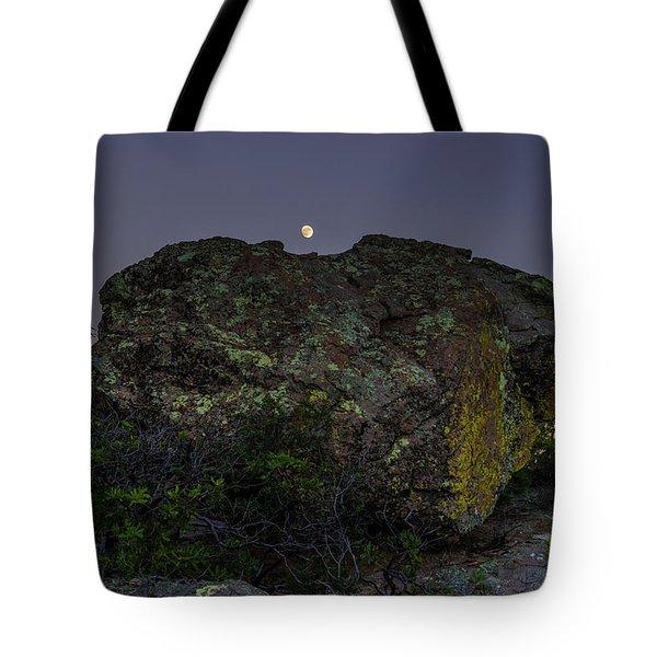 Boulder Moonrise Tote Bag
