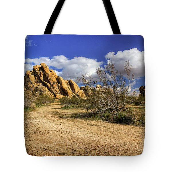 Boulders At Apple Valley Tote Bag