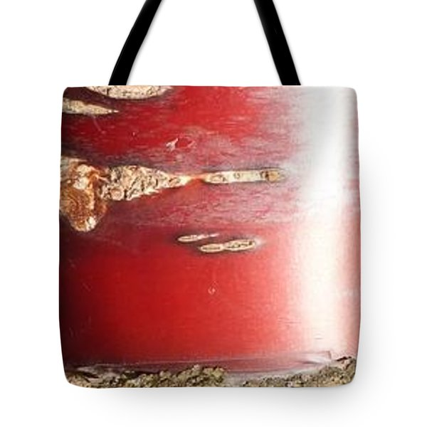 Bouleau Rouge Tote Bag