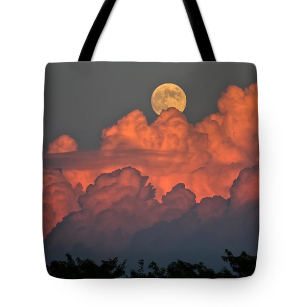Bouncing On Dreams Tote Bag by James Menzies