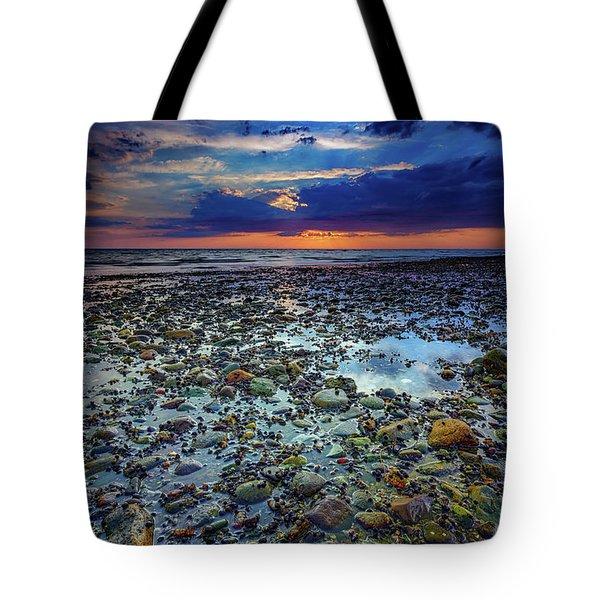 Bound Brook Sunset Tote Bag