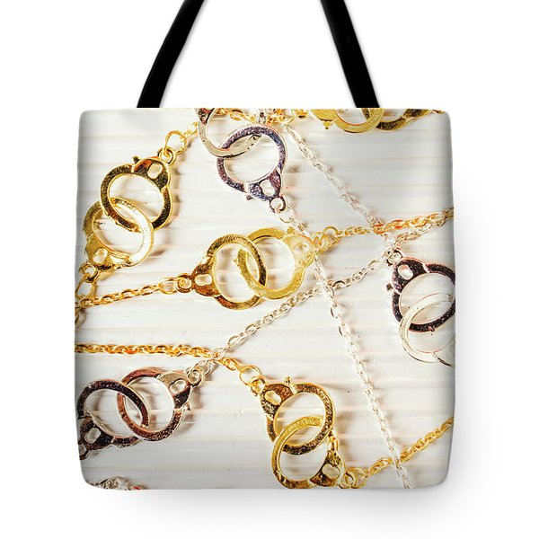 Tote Bag featuring the photograph Bound By Love  by Jorgo Photography - Wall Art Gallery