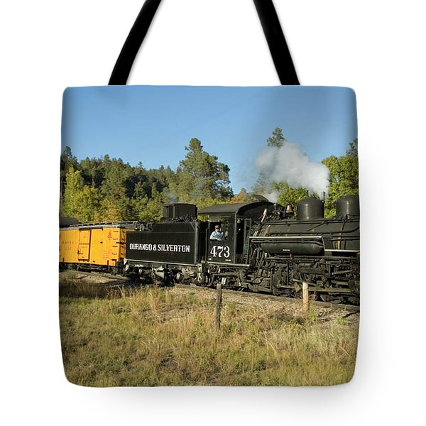 Bound For Durango Tote Bag by Jerry McElroy