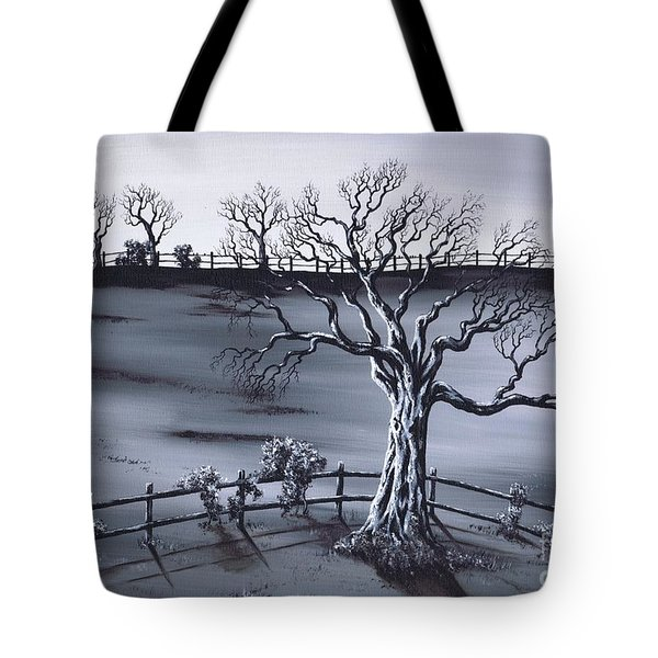 Boundries Tote Bag by Kenneth Clarke