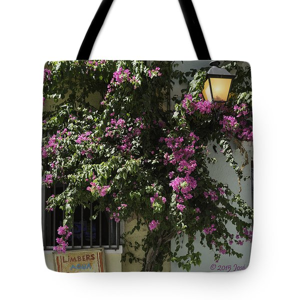 Tote Bag featuring the photograph Boungainvillea by Jose Oquendo