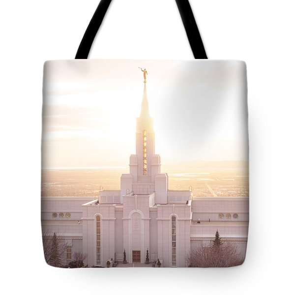 Bountiful Golden Glow Tote Bag