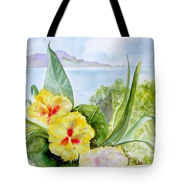 Bounty On The Balcony Tote Bag