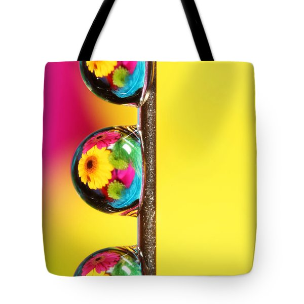 Bouquet In A Pin Drop Tote Bag