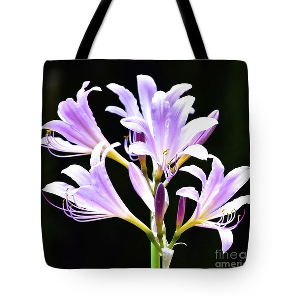 Bouquet In The Dark Tote Bag
