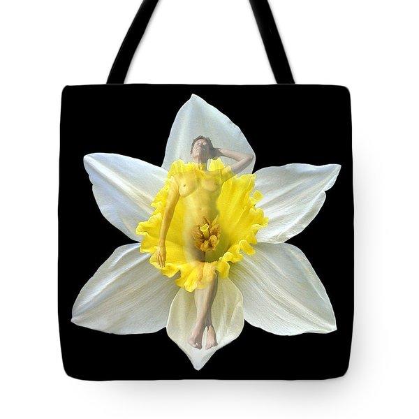 Bouquet Tote Bag by Kurt Van Wagner