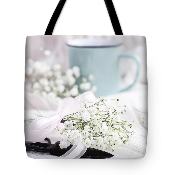 Bouquet Of Baby's Breath Tote Bag