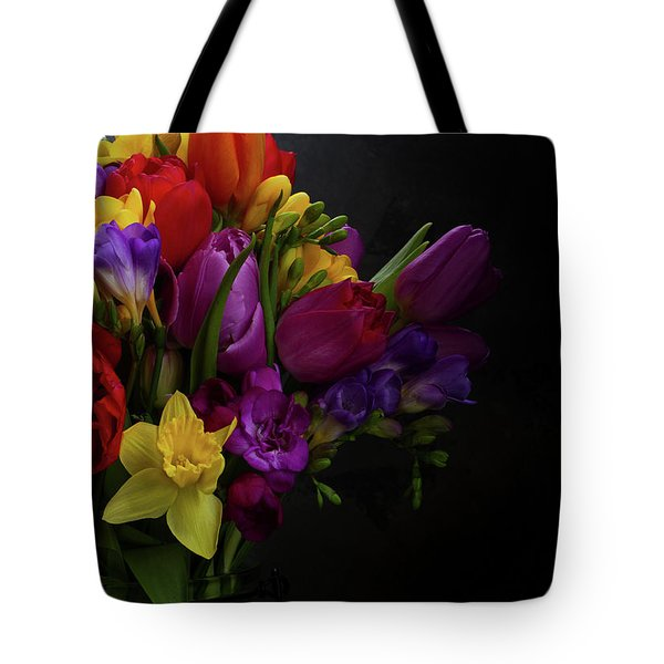 Flowers Dutch Style Tote Bag