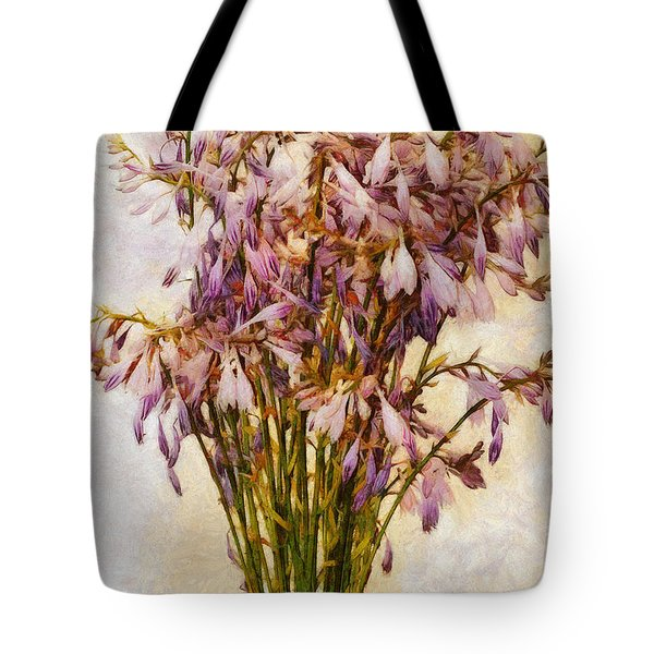 Bouquet Of Hostas Tote Bag